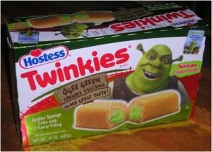 Shrek Twinkie