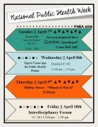 National Public Health Week 2015 Flyer
