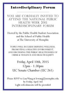 Interdisciplinary Forum Invitation